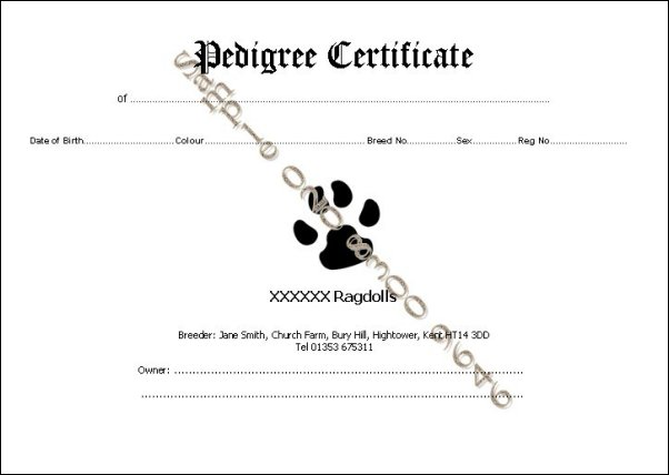 Stunning dog pedigree template photos resume ideas namanasa syntax sue medley printing and websites for cat and dog breeders yadclub Gallery